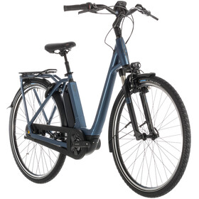 Cube Town Hybrid EXC 500 E-City Bike Easy Entry blue